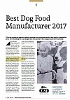 We've won! SME's 'Best Dog Food Manufacturer Award' 2017